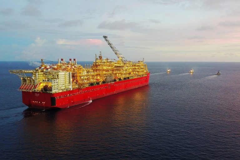 Prelude FLNG. Credit: Shell