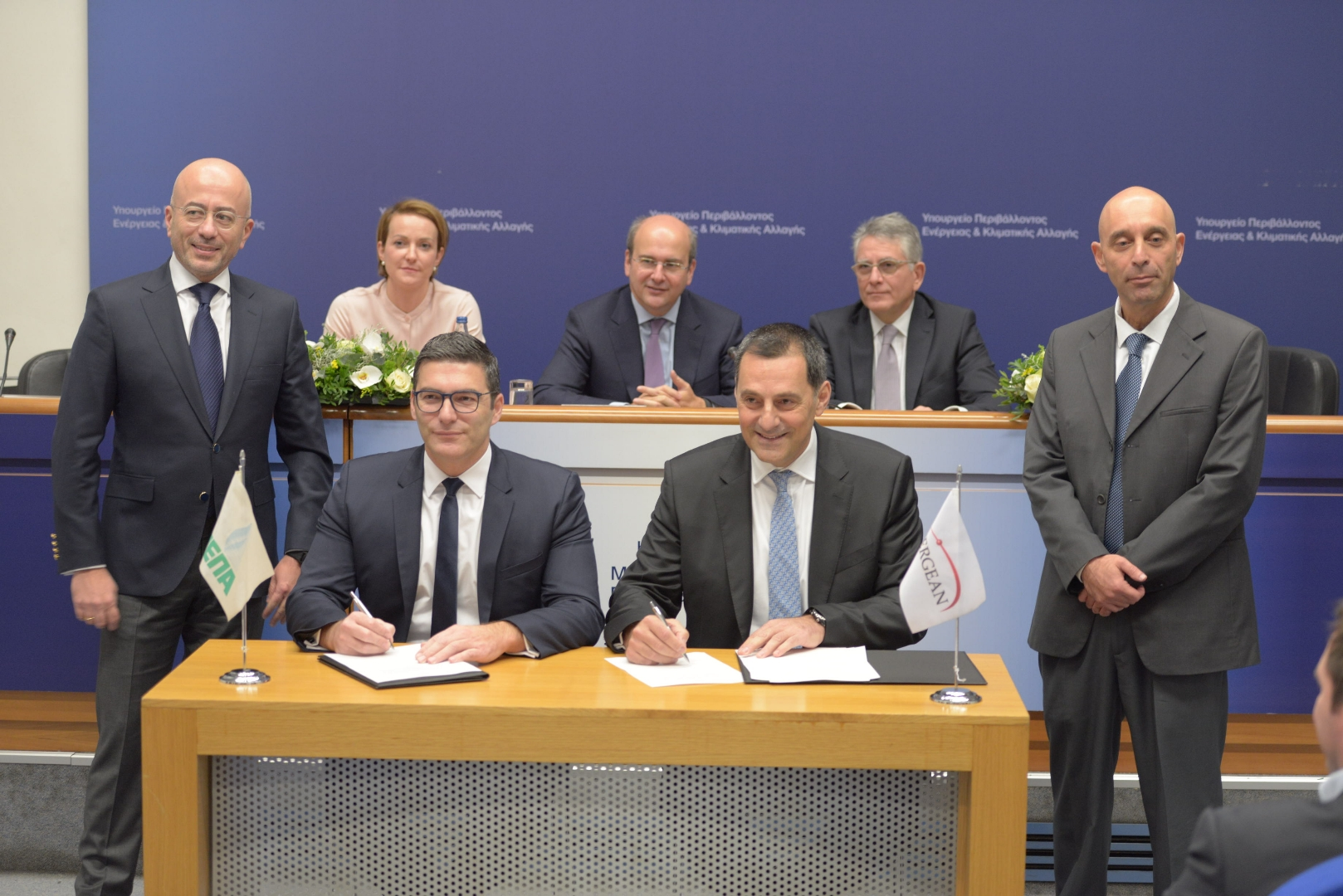 Image: DEPA and Energean signing agreement