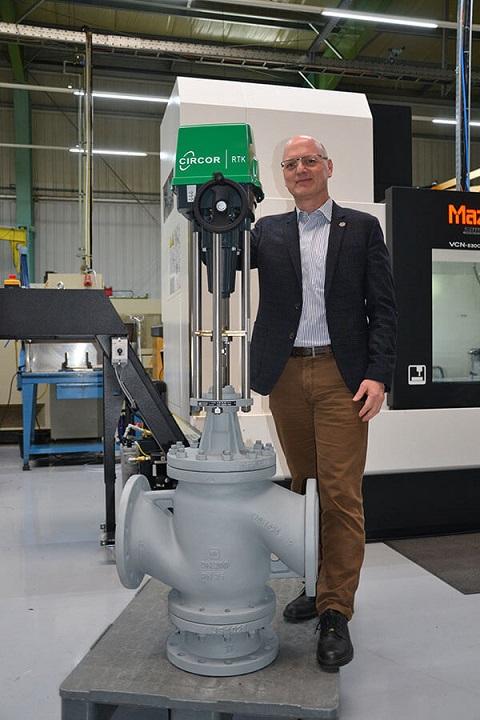 Dr Roger Ingemey, VP Industrial Valves EMEA
