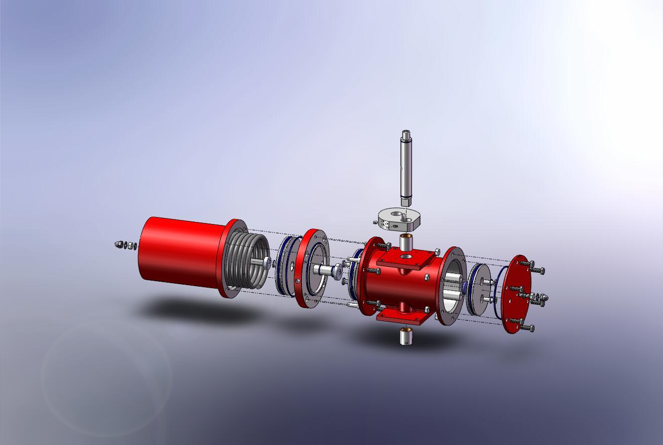 A 3D image of an IMTEX Cam Actuator