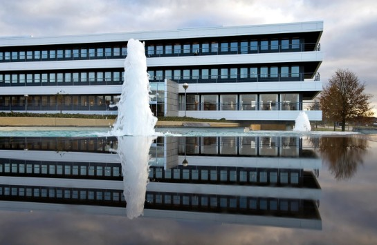 Grundfos headquarters in Bjerringbro
