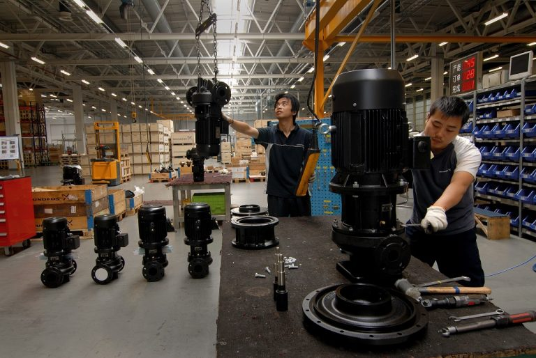 Grundfos production in China