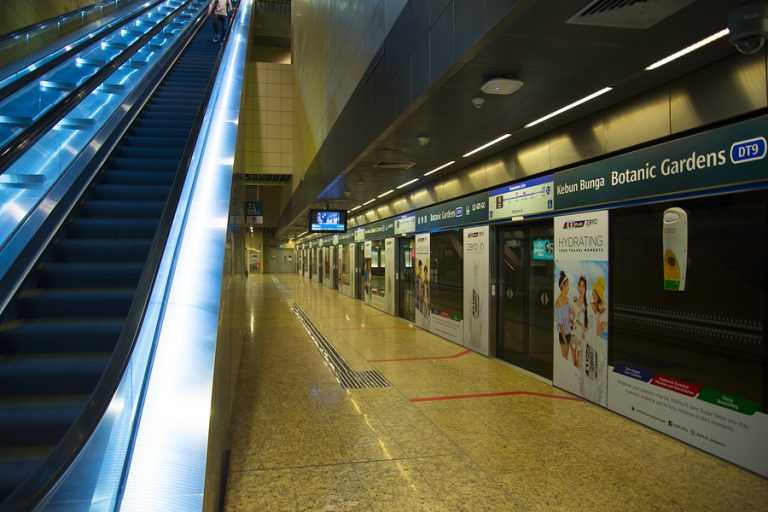 The station at Singapore
