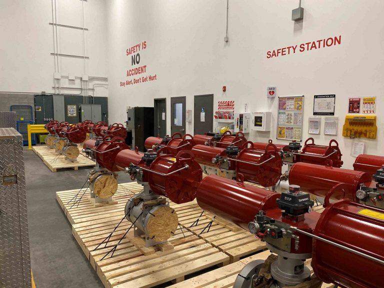 The Rotork machines