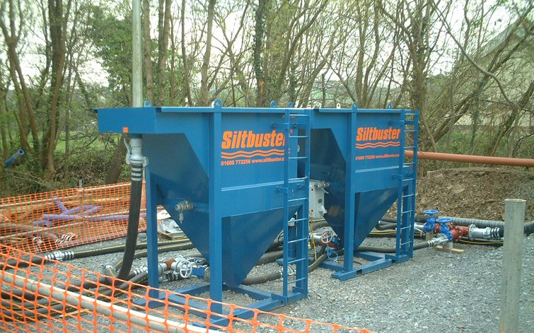 The Siltbuster HB20 Unit