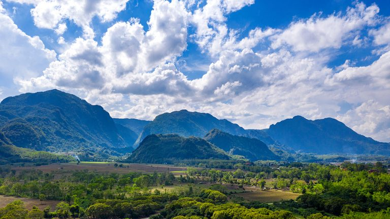 The mountainous Thai region of Chiang Rai
