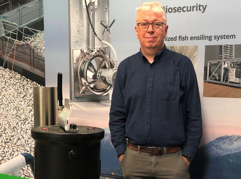 Landia's export sales director Thorkild Maagard