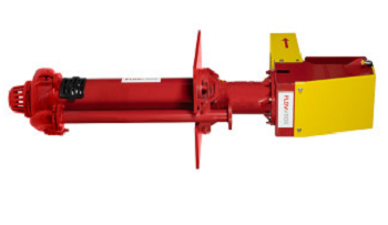 The Flowrox centrifugal pump CF-V is fit for various pumping applications
