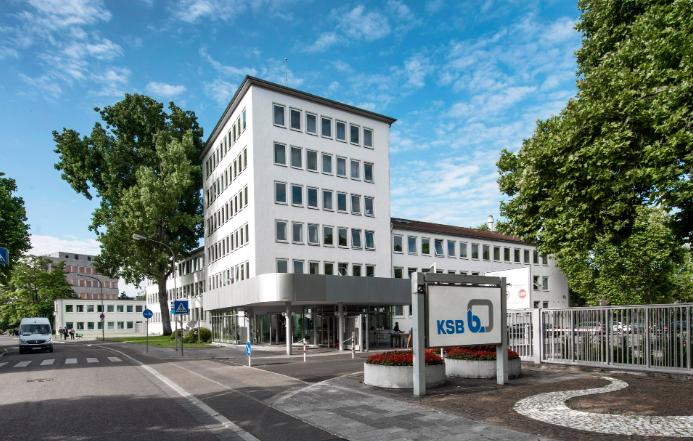 KSB adminstration building in Frankenthal