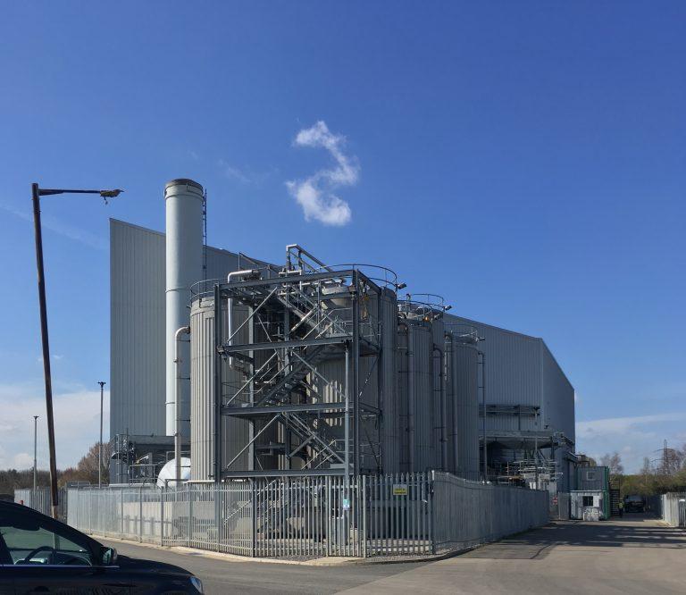 Arjun Infrastructures' power plant in London