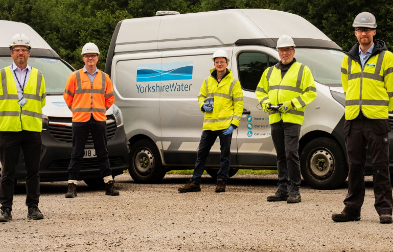 The work is being carried out by Yorkshire Water and its partners