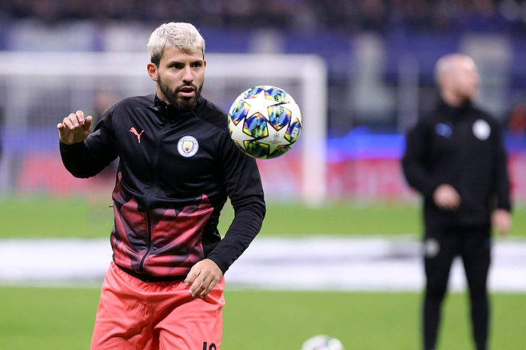 Striker Sergio Agüero featured in the Xylem video