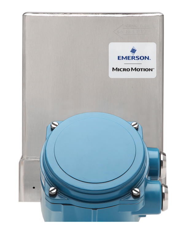 The Micro Motion High-Pressure Coriolis flowmeter
