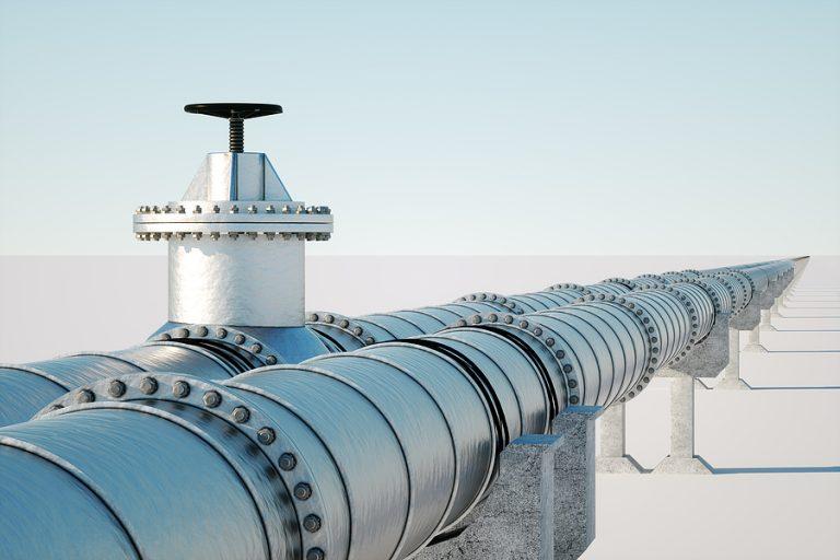 The original pipeline was built in 1972