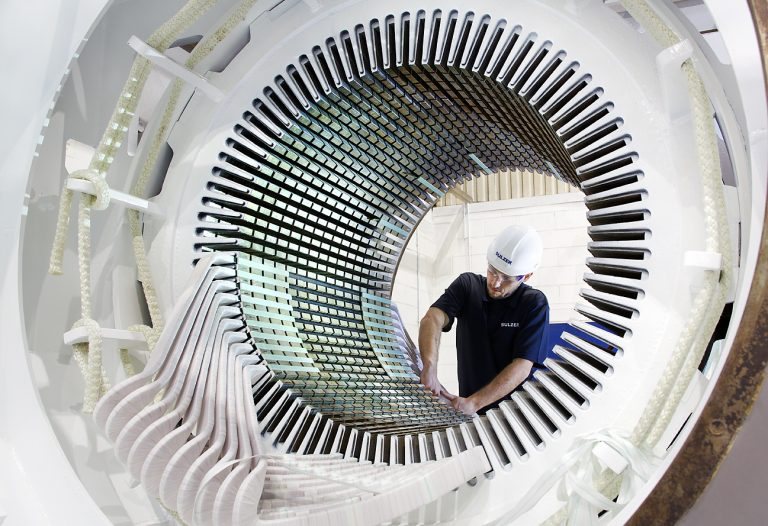Stator rewinds extend the service lives of generators and large motors