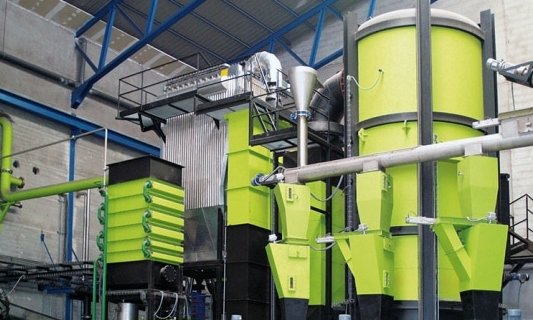 A gasification facility