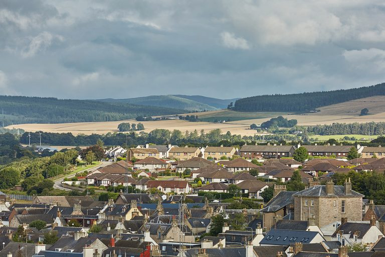 The capital Lerwick