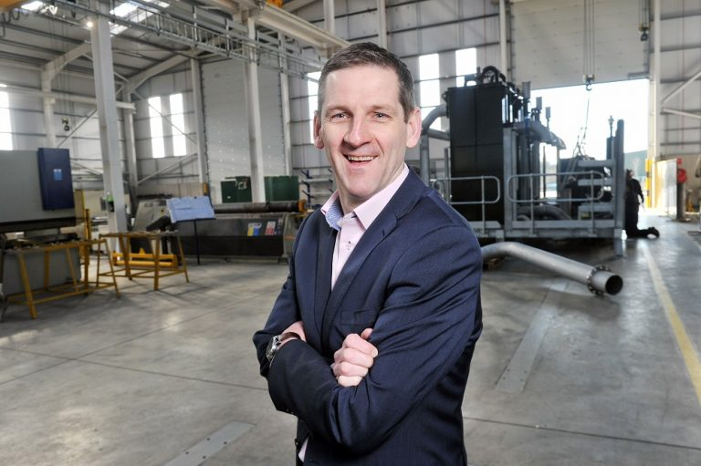 Patrick Buckley, managing director of EPS Group